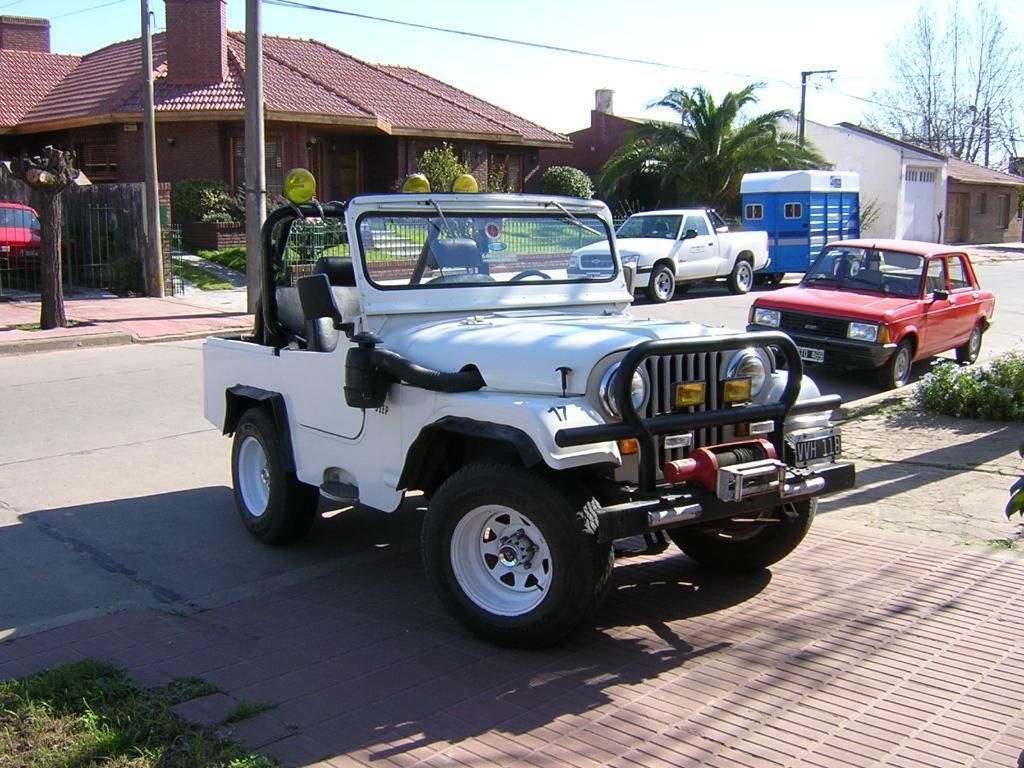 Jeep Ika 58, Gnc, Malacate