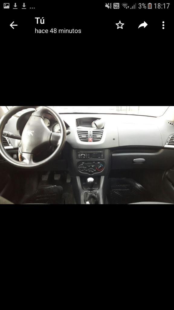 Vendo Peugeot 207 Compact  Baul Gnc
