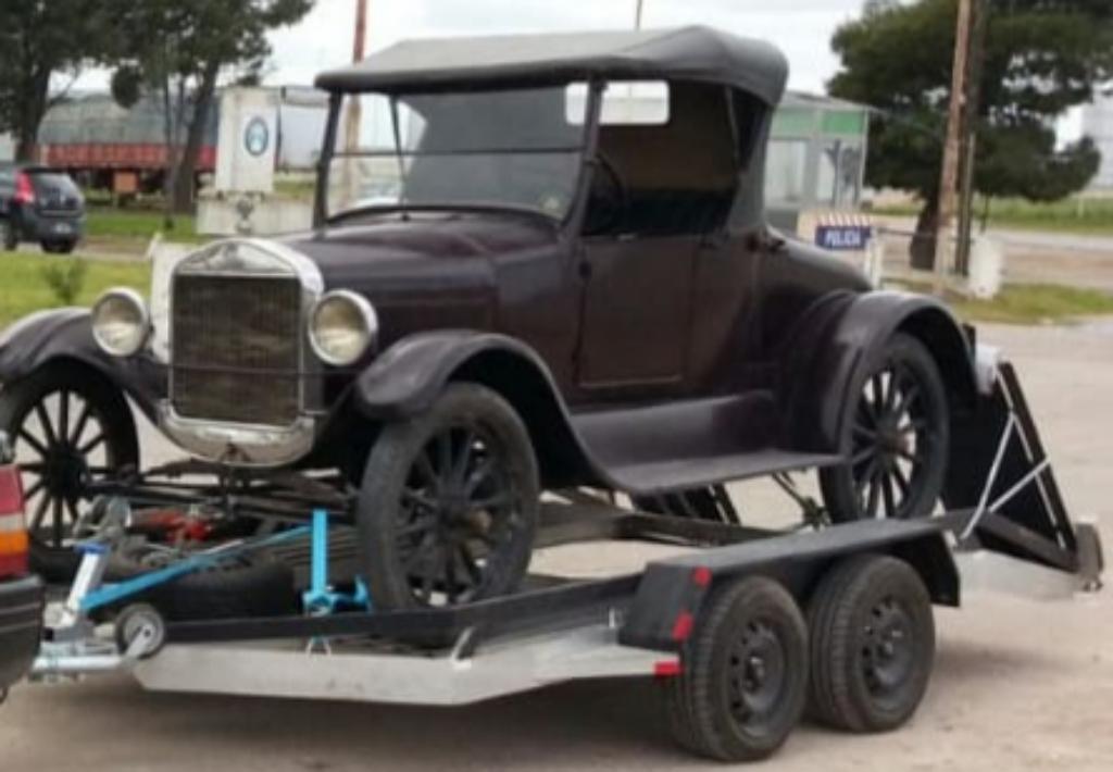 Carro Balancin Nuevo Trailer Ford a