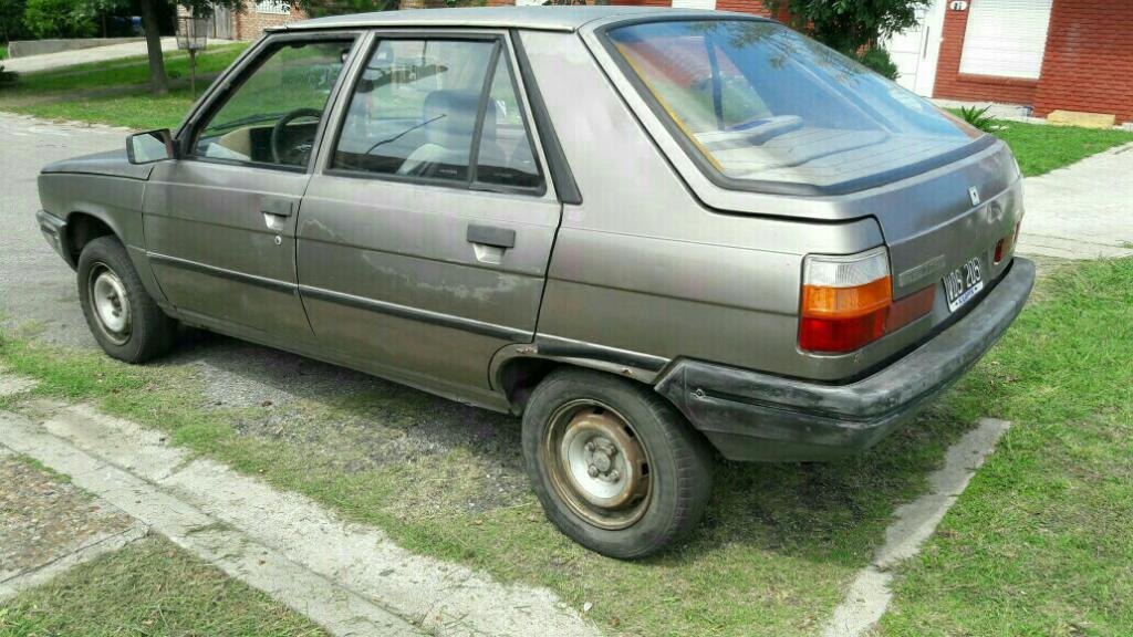 Renault 11 Nafta Y Gnc