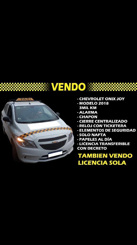 Vendo Taxi Capital O Licencia Sola
