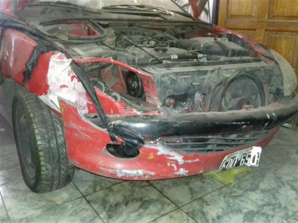Peugeot 206 Chocado Dado de Baja