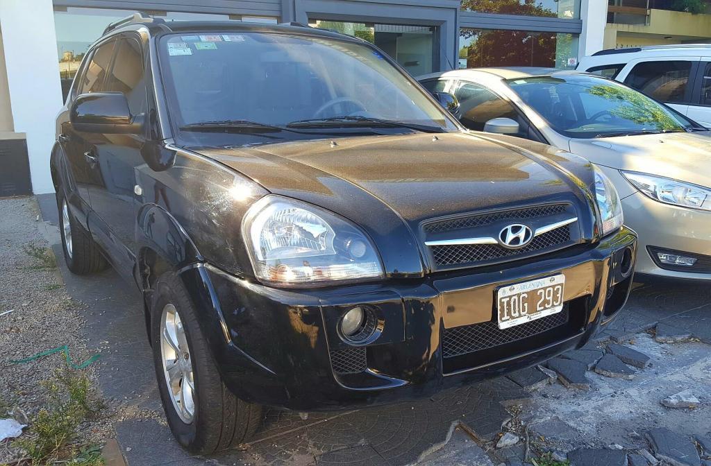 Hyundai Tucson 2.0 nafta 4X unica mano