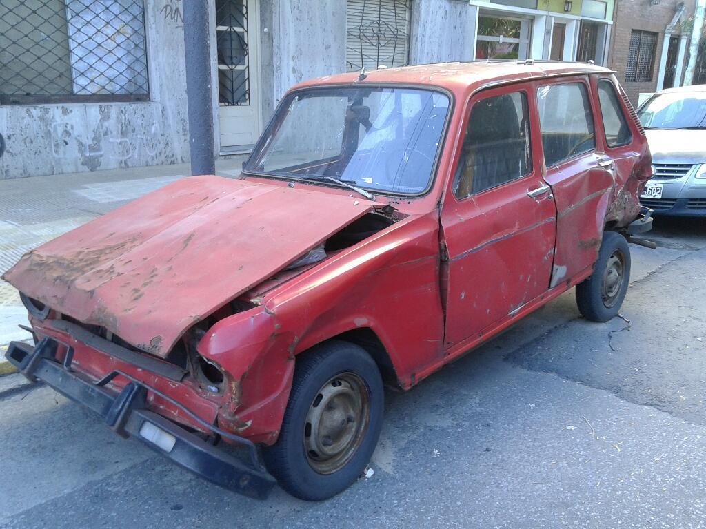 Renault 6 Gtl  Chocado Funcionando