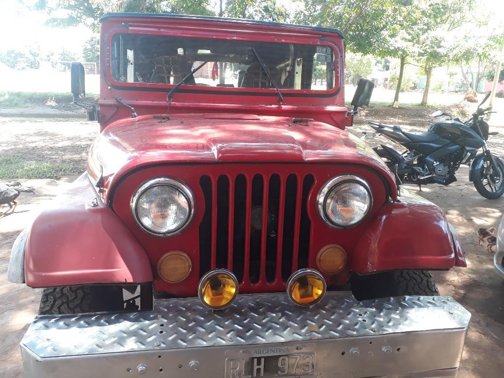 Vendo Jeep Ika Traccion4x4 Todo Original