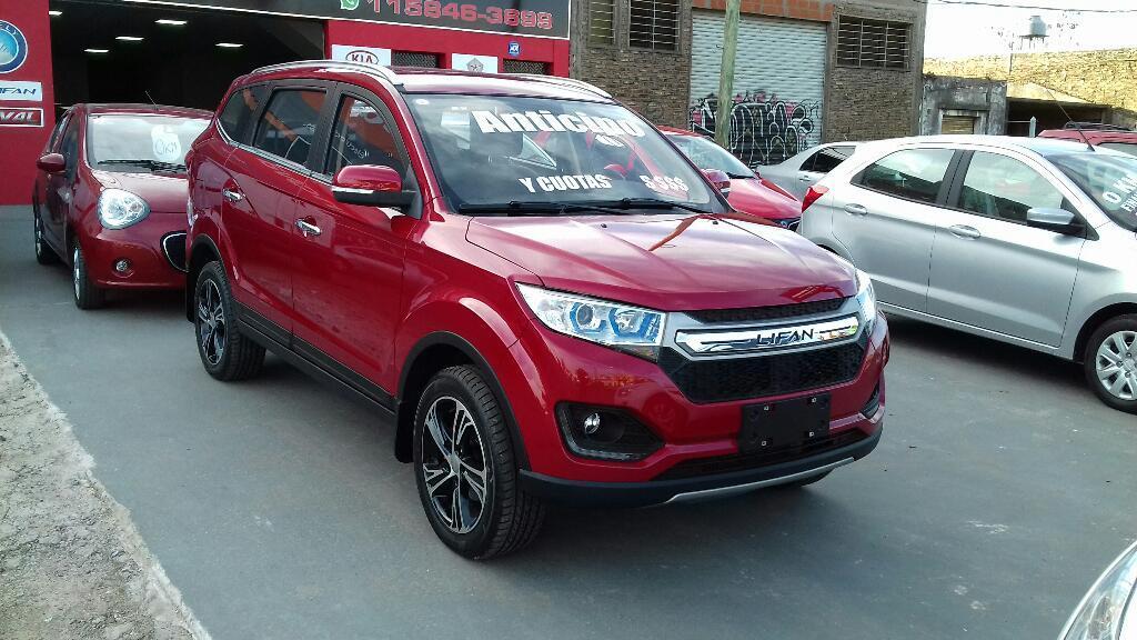 Lifan Myway 7 Asientos Okm Up Motors Argentina temperley