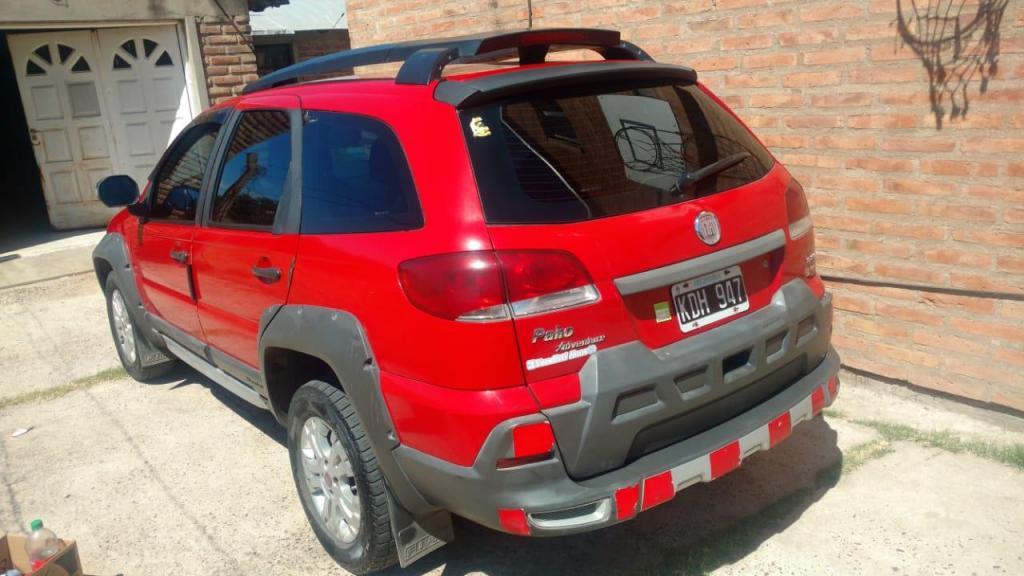 Vendo o Permuto Fiat Palio Adventure  con GNC