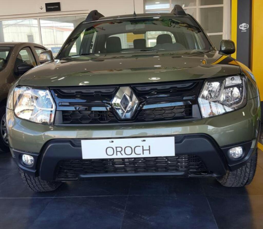 Renault Oroch Recibo Menor Valor