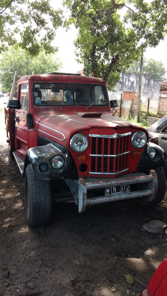 Vendo Camioneta Jeep Baqueano