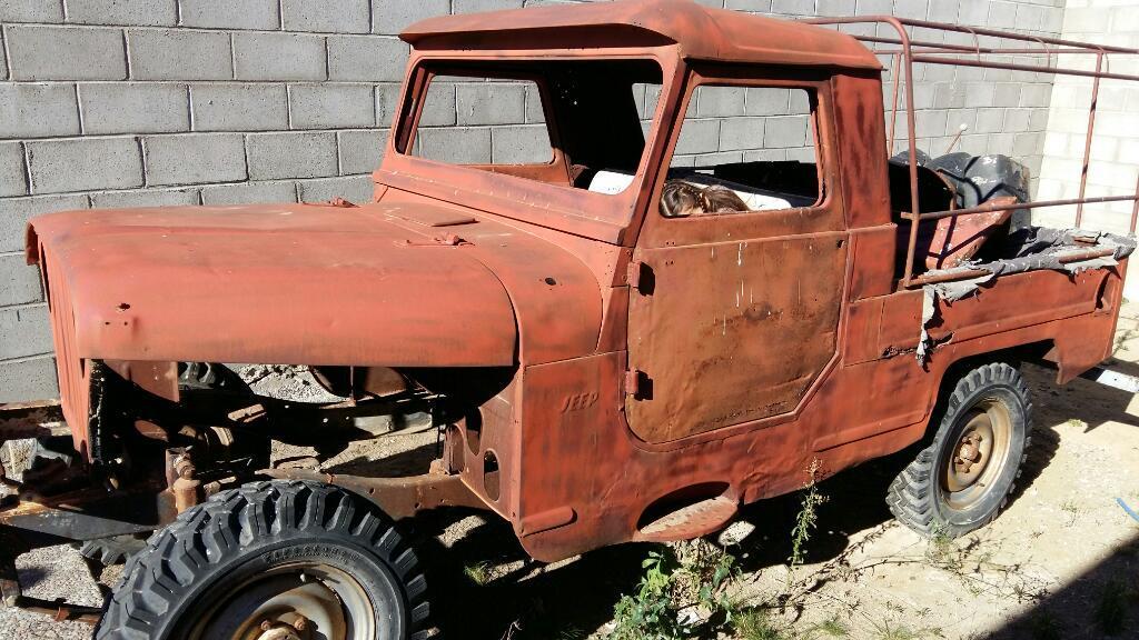 Jeep Ika 4x4 Chasis Largo