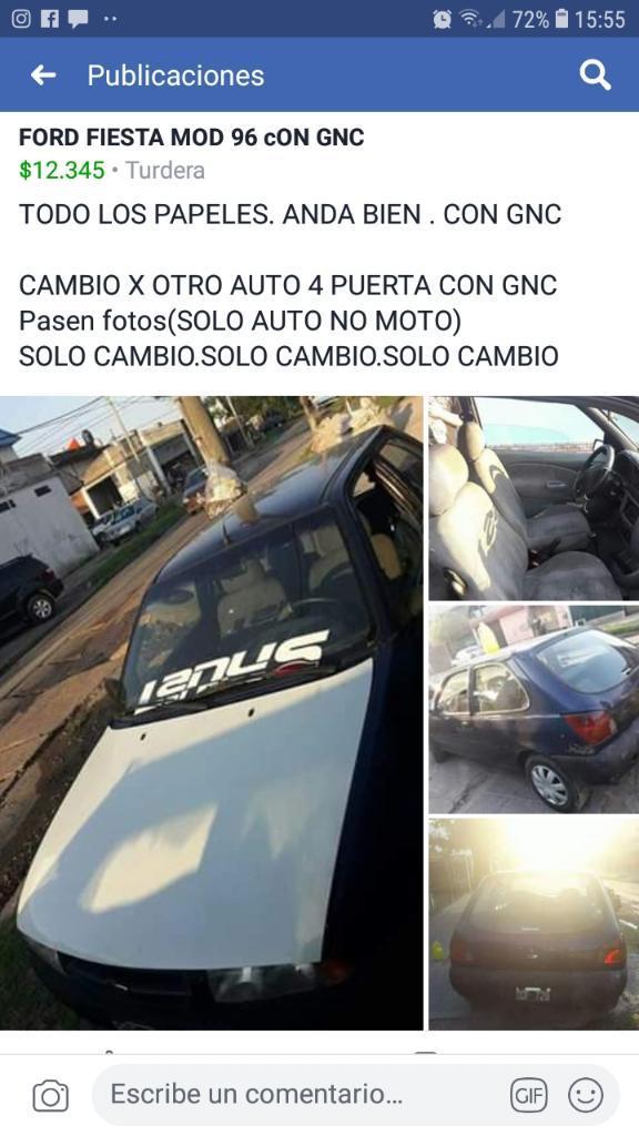 Cambio Ford Fiesta 96 con Gnc