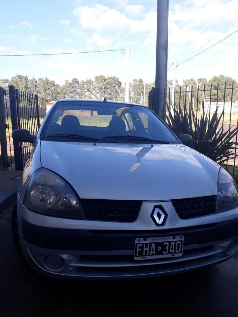 Clio 4 pts Authentic 06' AIRE Y DIRECCION ASISTIDA GNC DE