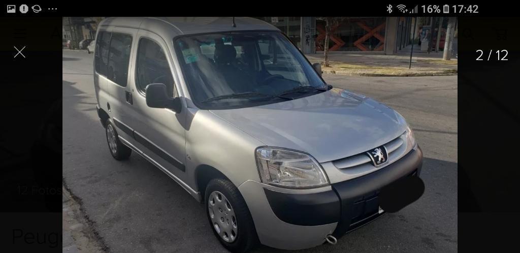 Peugeot Partner Patagonica 1.4 N Impecab