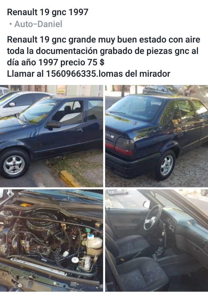 Renault 19 Gnc