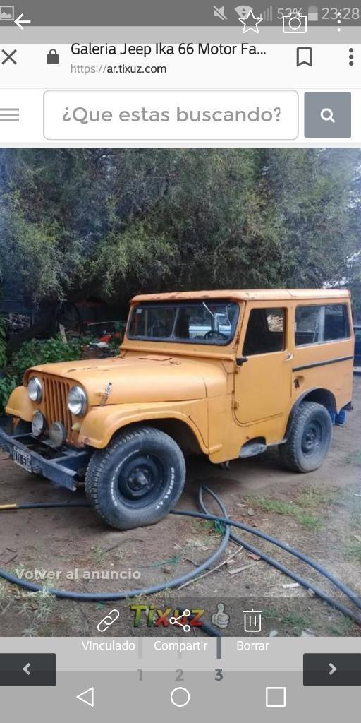 Jeep Ika Corto