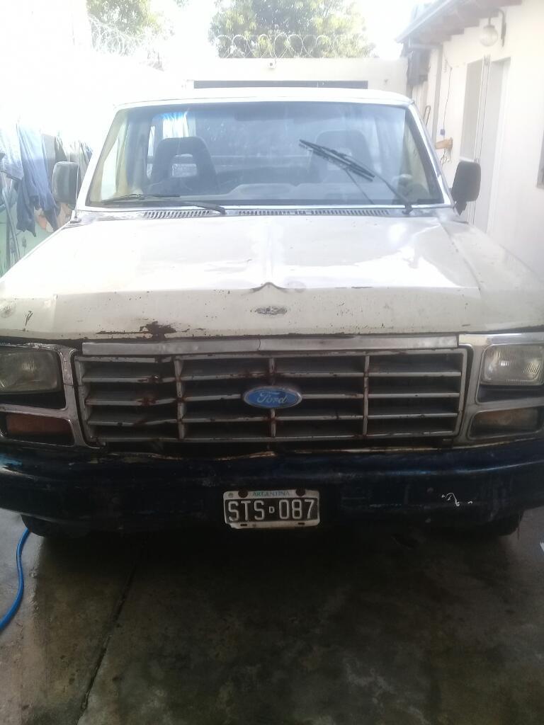 Vendo Camioneta Ford F