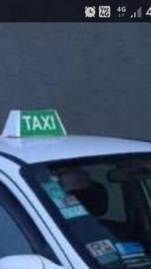 Taxi La Plata Habilitacion Sola O con Au