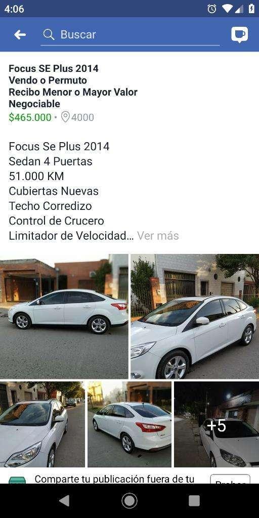 Focus Se Plus .vendo O Permuto 51m K