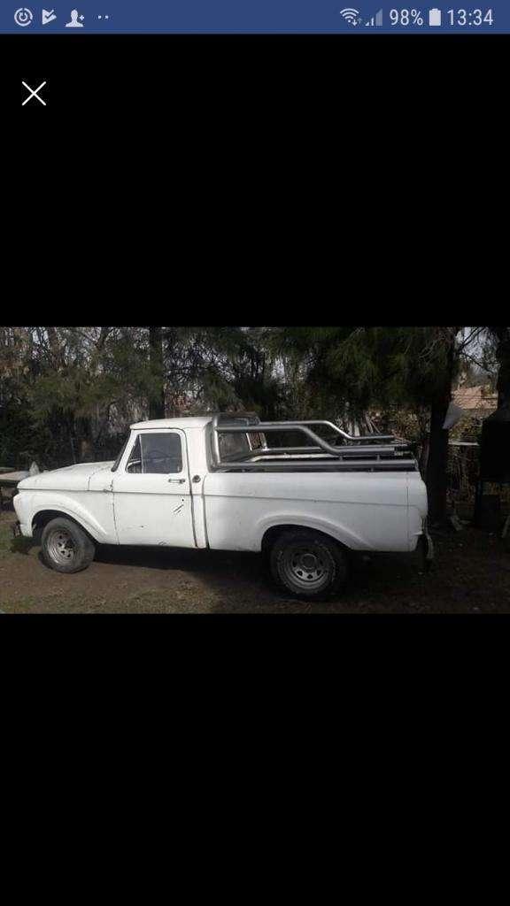 Vendo Camioneta Ford F100 Modelo 63 Titu