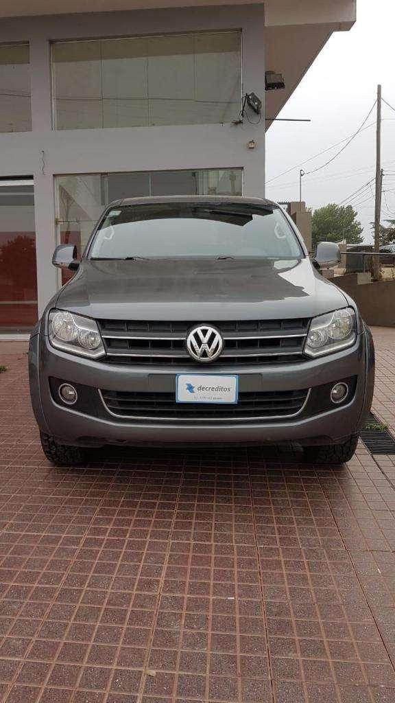 VW AMAROK X2 HIGHLINE IMPEC! 350 MIL Y CUOTAS CON DNI