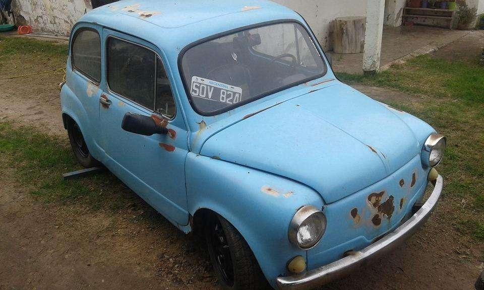 Fiat 600 motor 850 S modelo 82