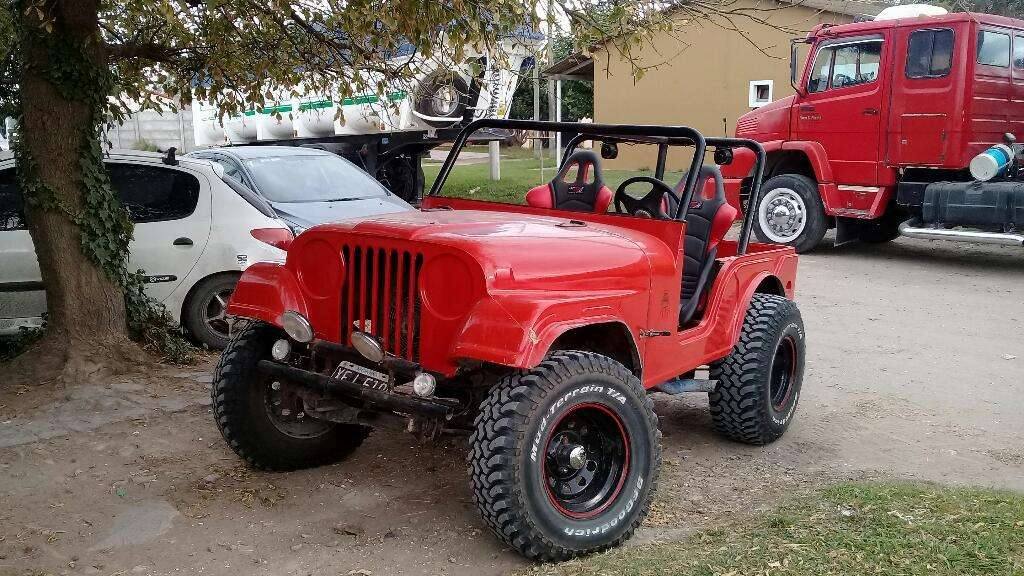 Jeep Motor Chevrolet 250