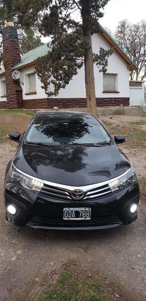 Toyota Corolla Xei Pack Cvt Cuero Caja a