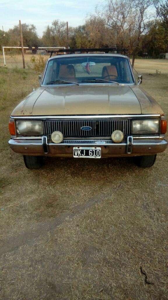 Vendo Ford Falcon Rural Modelo 80