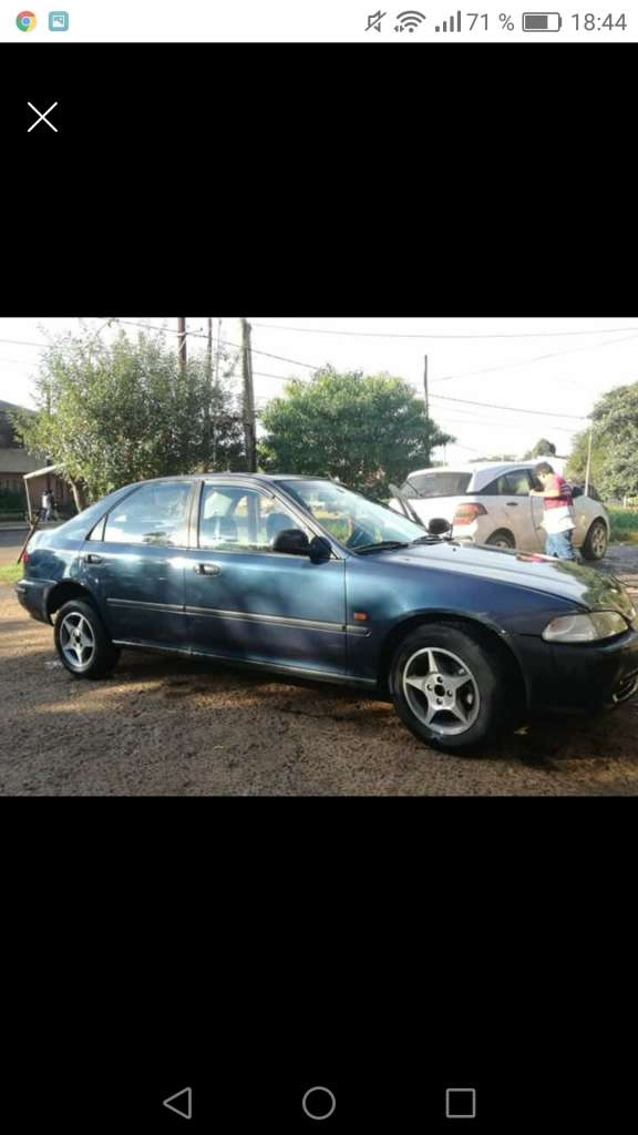 Honda Civic Ex  full