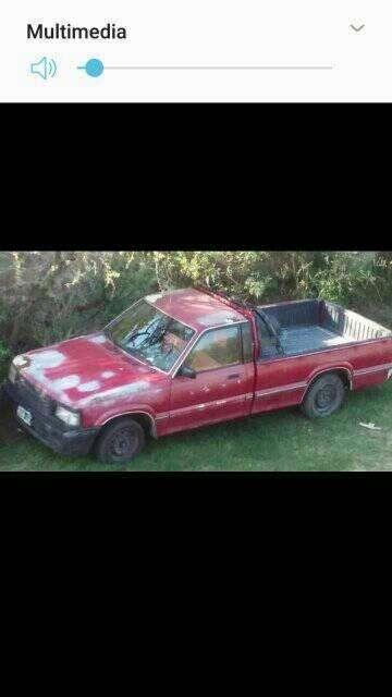 vendo o permuto camioneta Mazda pick up modelo 98
