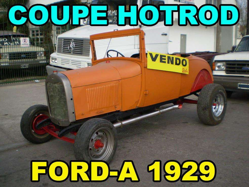 Coupe Ford-A HOTROD año