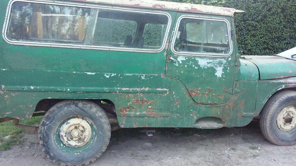 Vendo Jeep Ika Motor Continental